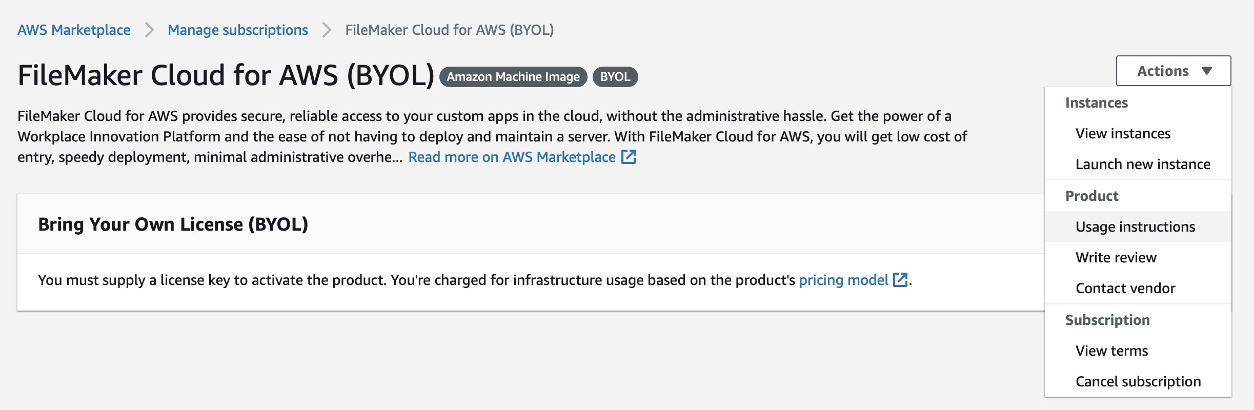 Getting started with FileMaker Cloud for AWS