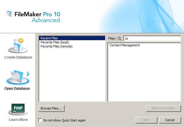 filemaker go templates - filemaker quick start filemaker